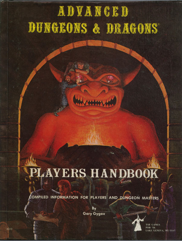 Dave Trampier Players Handbook
